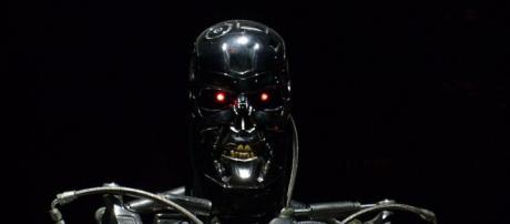 Terminator Exhibition T-800 - Menacing looking shot. - [Image credit - Dick Thomas Johnson, Wikimedia Commons]