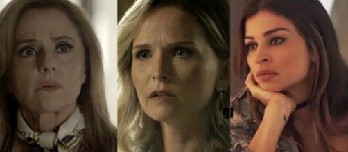 Fabiana, Sophia e Lívia em 'O outro Lado'
