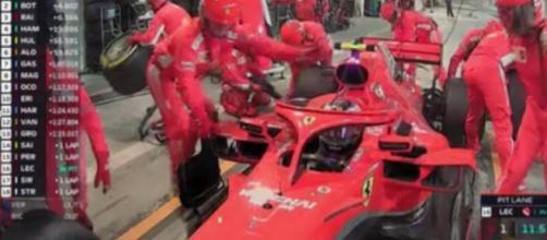 Formula 1 Gp Baharain Kimi raikkonen ai box.