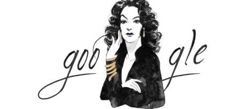 Google Doodle celebra 104 años de la diva mexicana.
