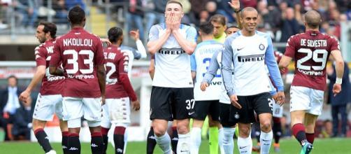 L'Inter perde con il Torino 1-0