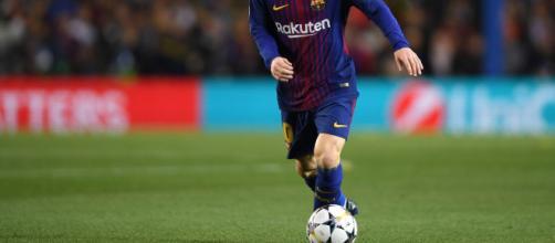Messi anota asombroso gol de tiro libre - Barca Blaugranes