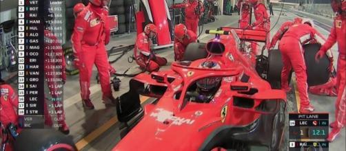Roda da Ferrari passou por cima do tornozelo do mecânico