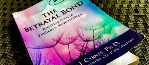 """The Betrayal Bond: Breaking Free of Exploitive Relationships"" by Dr. Patrick J. Carnes, PhD. (Photo by Danielle Lilly)"