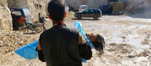 Más de 40 muertos en otro ataque químico en Siria