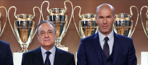 Zidane tiene cuatro bombas que destruyen a Florentino Pérez en el ... - diariogol.com