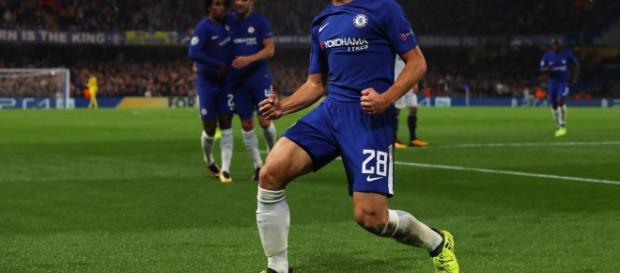 El derroche de Chelsea. en celebracion.