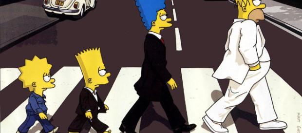 Los Simpson, la famosa serie de la cadena Fox.