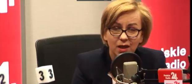 Paulina Henning-Kloska, rzecznik prasowy Nowoczesnej.