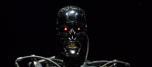 Terminator Exhibition T-800 - Menacing looking shot. - [Image credit - Dick Thomas Johnson, Wikimedia Commons]