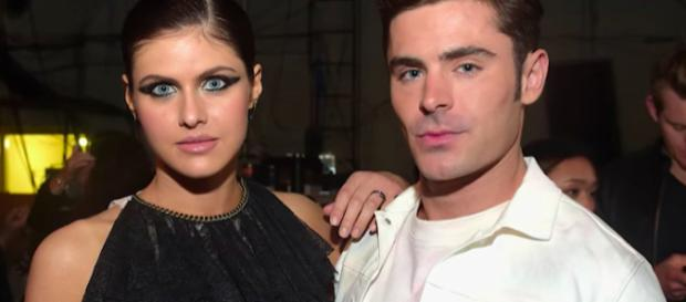 Zac Efron could be in an affair with Alexandra Daddario. - [image source: Clever News / YouTube screenshot]