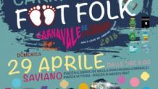 Carneval Foot Folk: domenica 29 aprile a Saviano carri, musica e divertimento