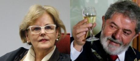 Rosa Weber poderá soltar Lula da cadeia