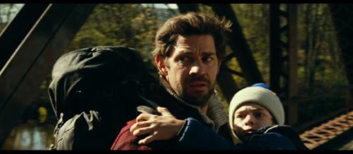 A Quiet Place, while mostly silent, is actually very loud. [image source: Paramount Pictures - YouTube]