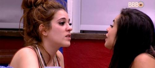 BBB18: Chega ao fim discussão entre Ana Clara e Paula; veja como terminou. (foto reprodução).