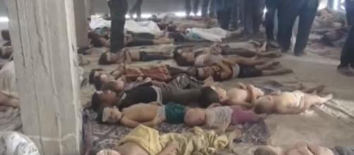 By محمد السعيد - Photo source Wikimedia victims of chemical attack in Syria