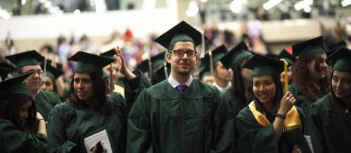 College graduation is a time for celebrating. [image source: COD Newsroom - Flickr]