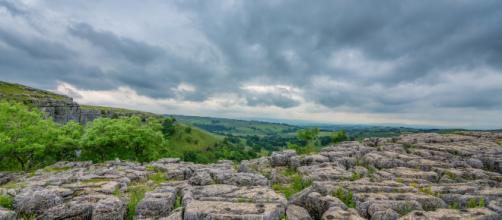 Limestone rocks are one source of nitrogen on Earth. Image: Tim Hall on Pixabay