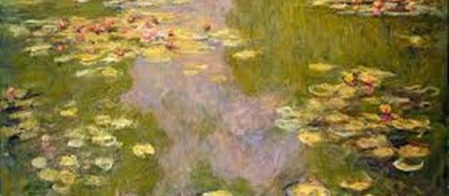 """Monet's """"Waterlilies"""" (detail) en.wikipedia.org"""