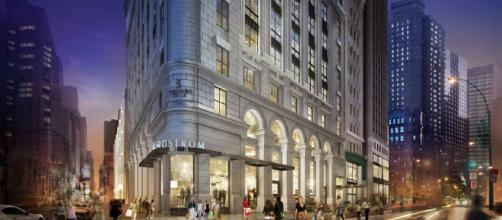 NORDSTROM FLAGSHIP - Projects - James Carpenter Design Associates Inc. - jcdainc.com