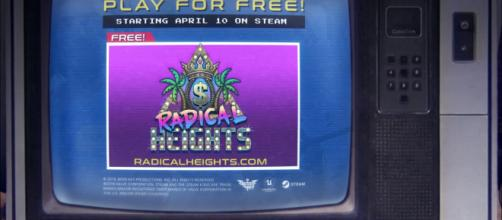 'Radical Heights,' a new battle royale game is set to compete with 'Fortnite' and 'PubG' [Image via Radical Heights - YouTube]