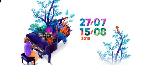 Saison 2018 - festival du 27/07 au 15/08