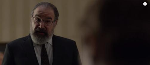 Saul and Carrie are scrambling to uncover the Russian operation. [image source: Homeland/YouTube]