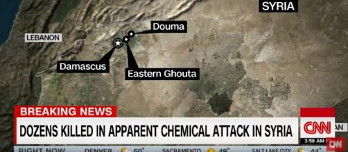 Syria kills odzens in chemical attack. What's next? [image source: CNN - YouTube]
