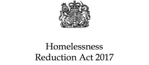 The Homelessness Reduction Act 2017 - gov UK