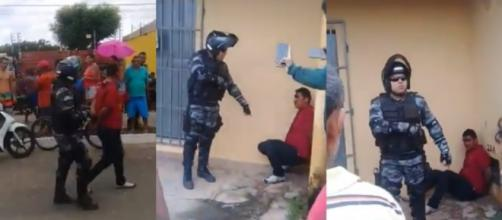 Um bandido foi executado após tentar assaltar um homem ainda não identificado