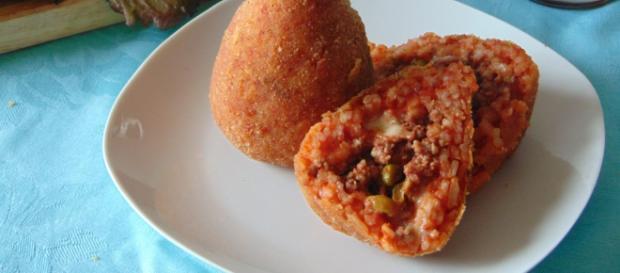 Arancini di riso alla siciliana