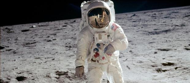 Astronaut Buzz Aldrin on the moon (Image credit – NASA, Wikimedia Commons)