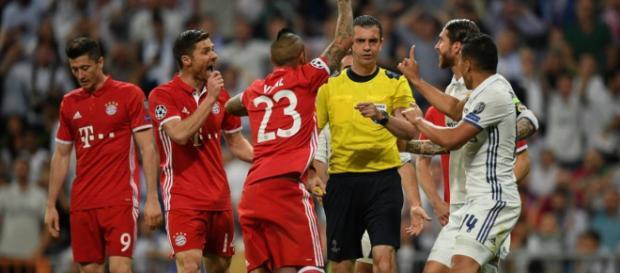 Bei Real gegen Bayern gab es viel zu diskutieren