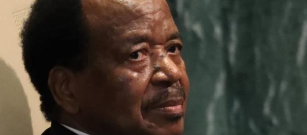 Le président de la république du Cameroun son excellence Paul Biya.