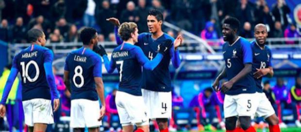 Le Real Madrid à l'assaut d'un attaquant français (Crédits : Instagram équipe de France)