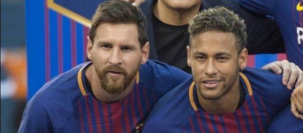 Leo Messi e Neymar ficaram muito amigos no Barcelona