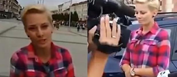 Polski patriota kontra dziennikarka TVN (youtube.com).