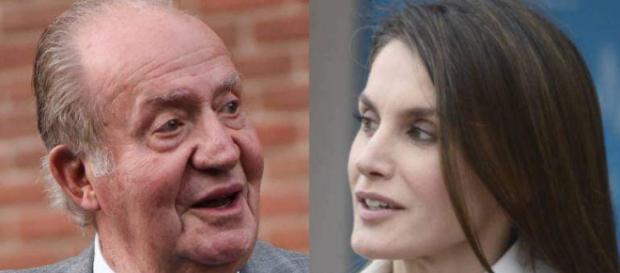 Rey Juan Carlos y Reina Letizia en imagen