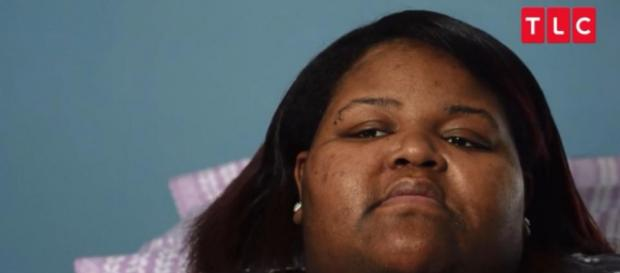 Schenee Murry was combative on 'My 600 Lb Life' and now she's asking for help again. [Image via TLC]
