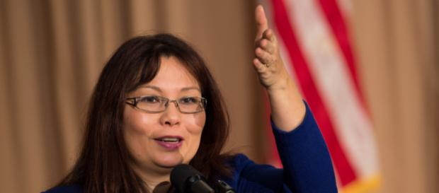 Tammy Duckworth gave birth while holding office. - [image source: U.S Department of Agriculture - Flickr]