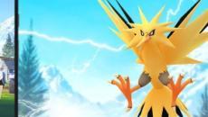Pokemon GO: aparece Zapdos en las nuevas investigaciones de campo