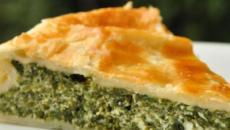 Torta rustica di spinaci e mozzarella