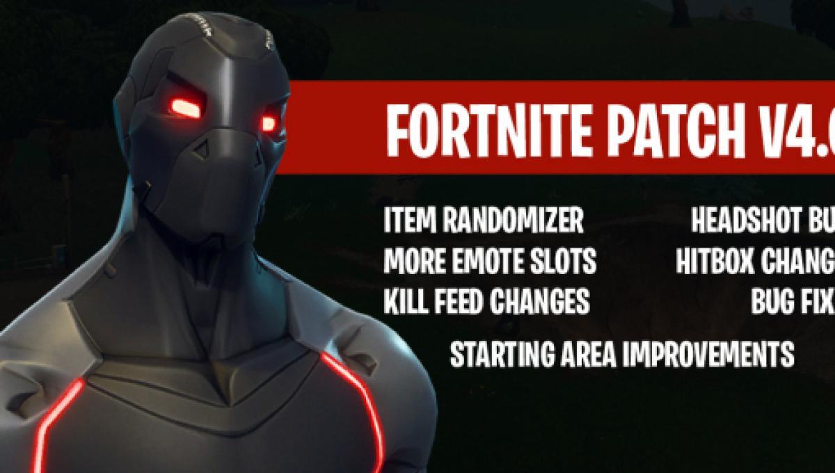 Fortnite Big Hitbox Fortnite Battle Royale Season 4 Patch Brought Some Big Changes
