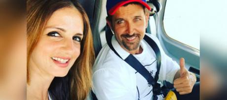Hrithik Roshan and Sussanne Khan continue to uphold a strong friendship even after seperation (Image credit: Sussanne/Instagram)