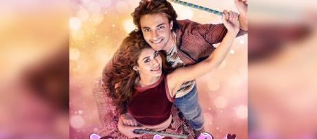 Loveratri' first poster: Aayush Sharma and Warina Hussain ... -(Image via Zoom tv)