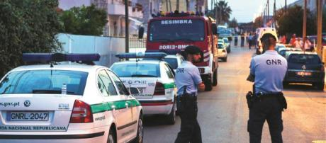 Triplo assassinato na Quinta do Conde, mata um militar da GNR, um agente da PSP e o seu flho