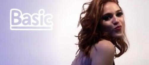 Ana Clara está mostrando sua sensualidade