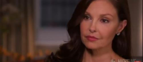 Ashley Judd in a 'Nightline' interview with Diane Sawyer. [Image source: ABCNews/YouTube]