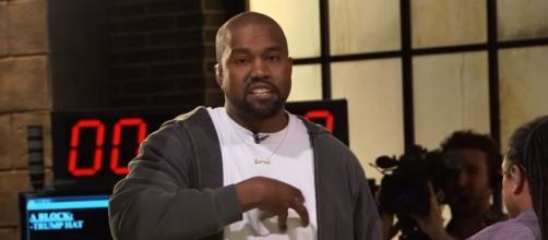Kanye West at TMZ, via YouTube