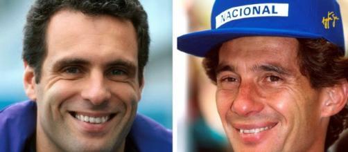 Roland Ratzenberger e Ayron Senna